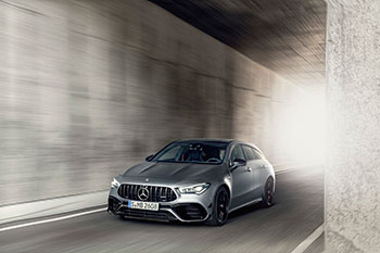 Новый Mercedes-AMG CLA 45 Shooting Brake: Маленький и злой «сарай»